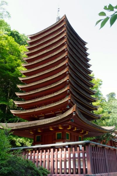 170529-30奈良家族旅行【1】桜井の古刹~駆け足で飛鳥~三輪でとろろ飯