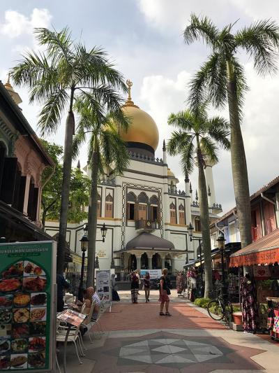 2016年11月②シンガポール3泊5日ひとり旅☆3・4日目~チャイナタウン&アラブストリート ラクサ食べて帰国 マリーナマンダリンに滞在