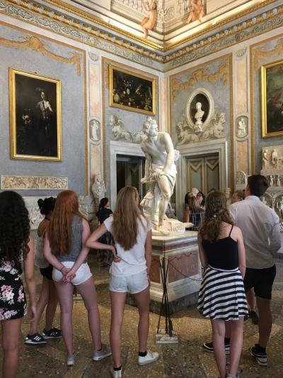 ローマ法王を輩出したボルゲーゼ家のコレクション/ボルゲーゼ美術館に行って来ました~2017年5月