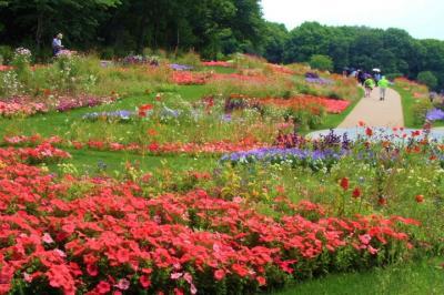花で満ち溢れる里山ガーデン