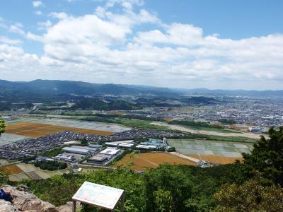 岩場を越えれば大展望♪ 近江富士三上山に登る