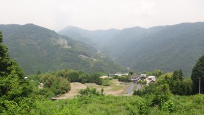 新緑の原付ツーリング 徳島県三好町 東山峠 → 滝久保 → 藤川 → 二軒茶屋