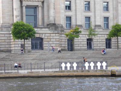 2016.5 とことん旧東ベルリン③ ベルリンの壁跡に沿ってシュプレー川を散策、東西ベルリンの復興の象徴ポツダム広場