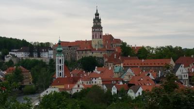 てるみくらぶにひどいめにあったけど、お休み取っちゃったからプラハ行って来た。2チェスキークルムロフ