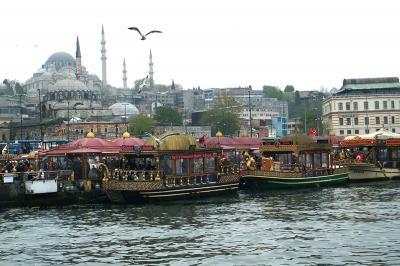 2011年GW【No.4】ドバイ&トルコ7日間の旅☆5・6・7日目~イスタンブール観光 グランドバザール&エミノミュでサバサンド♪ヒルトンイスタンブールボスポラスに滞在