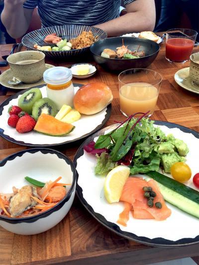 2016年1月 アンダーズ東京に宿泊☆ルーフトップバーで飲んでタヴァンで朝食♪