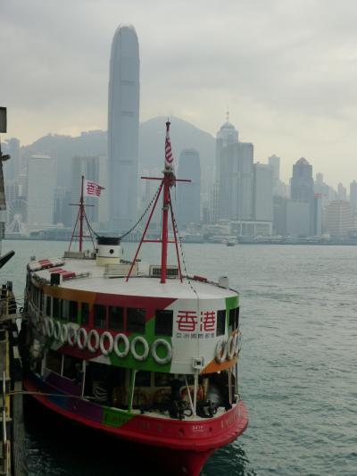 初めての海外旅行 その3 花文字を買いに香港島観光