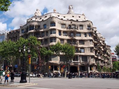 2012年GW【No.2】スペイン&ロンドン8日間の旅☆2・3日目~サグラダファミリア!ガウディ建築を堪能&バルセロナ街歩き ホテルバルセロサンツに滞在
