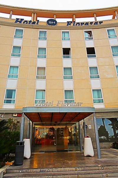 Spain16 バレンシア郊外 ホテル SHフロラザール 宿泊 ☆隣接カルフールは日曜閉店
