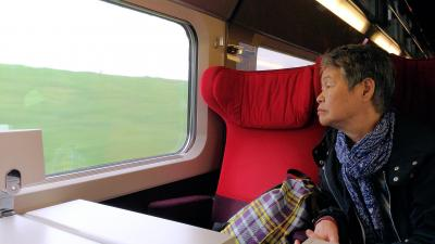 ブリュッセルからタリス、パリからTGV、アルルから急行、リヨンからTERに乗る