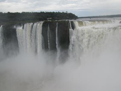 アルゼンチン 「行った所・見た所」 イグアスの滝(悪魔ののどぶえ)