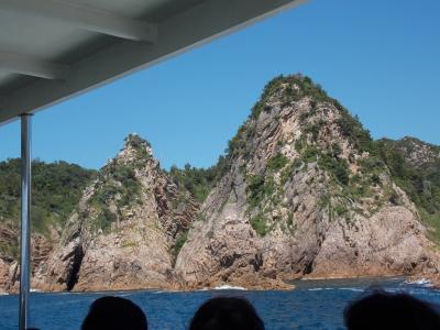山陰をめぐる旅 浦富海岸