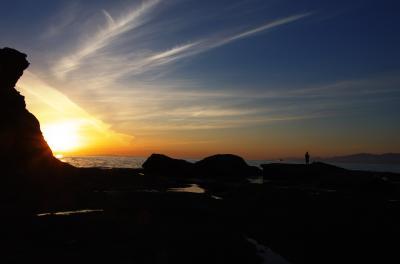 初春の奥尻島、滞在4時間日帰りの旅。。