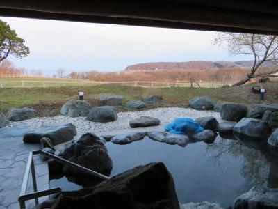 【宿泊レポ☆42】 GWの道南~道央FLY&DRIVE ~4日目-2 露天風呂から太平洋と草原が見渡せる新冠温泉ホテルヒルズ