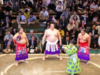 稀勢の里が新横綱として迎えた大相撲五月場所観戦(初日)