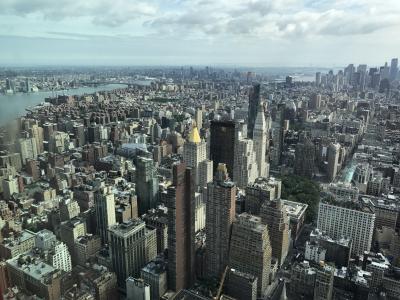 ニューヨークの摩天楼は、やっぱり圧巻☆