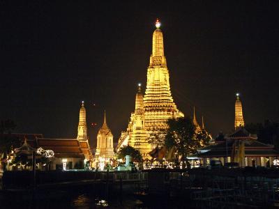 2011-2012年越し②バンコク4泊6日の旅☆3日目~バンコク市内観光&マノーラ号ディナークルーズ Sivatel Bangkokに滞在