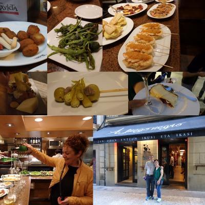 初めてのバスク地方(北スペイン)サンセバスチャン(一日目)バルツアー