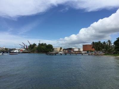 貿易風の通り抜ける島