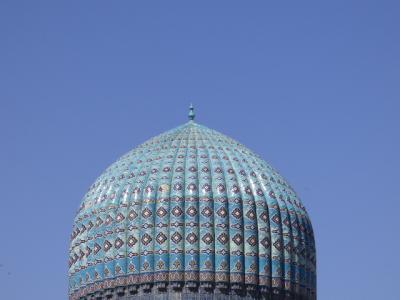 2017GW ウズベキスタンとイスタンブールひとり旅 サマルカンド1日目 ホテル周辺