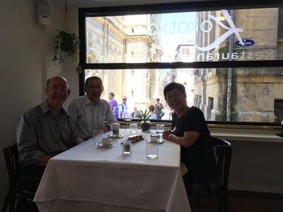 初めてのバスク地方(北スペイン)サンセバスチャン(二日目)新しい友人との楽しすぎる最高のランチ ココチャ