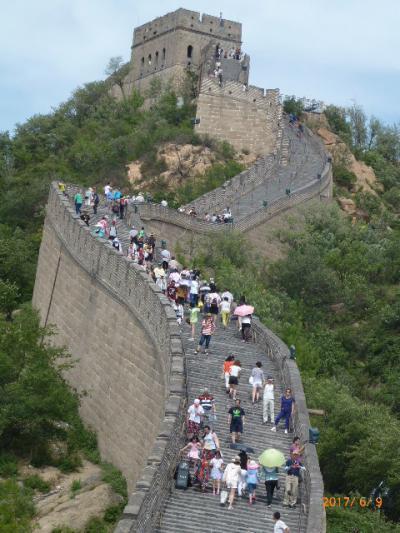 北京へ…念願の「万里の長城と天安門」 2日目 北京動物園、万里の長城 3-2