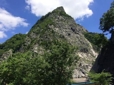 糸魚川の大ジオラマと姫川温泉