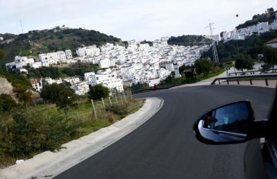 2016.12ジブラルタル海峡への遠い道22-ジブラルタルから白い村 Casaresに向かう