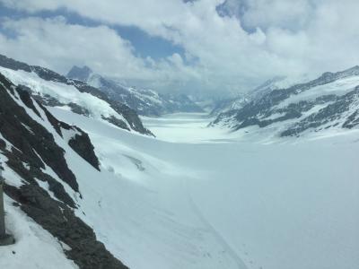 スイス5泊7日で3大名峰を見てきました(ユングフラウとアイガー 4/11)