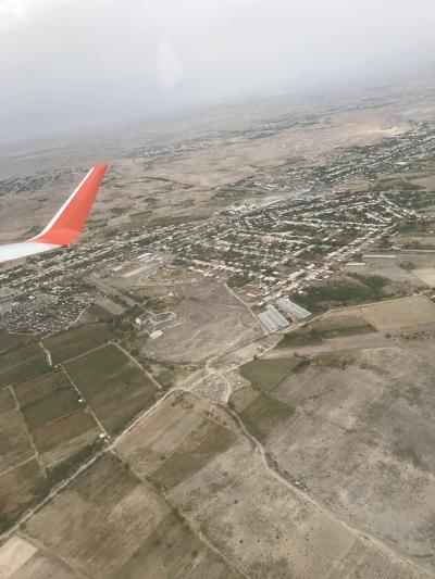 エレバンから飛行機でモスクワへ