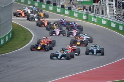F1 カナダGP 2017