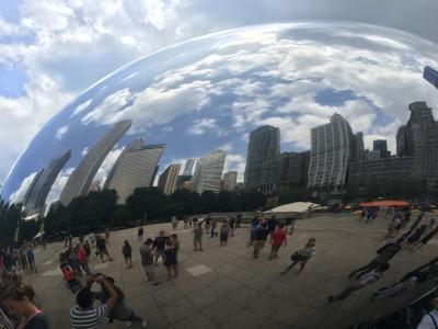 出張ついでに週末シカゴ観光 1日目