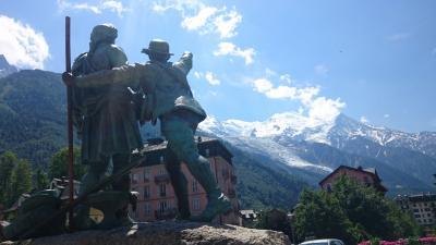 スイス モンブラン マッターホルン ユングフラウを見に行きたくて 1