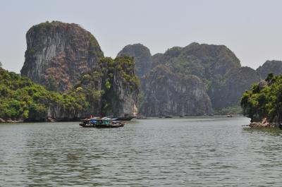 ベトナム縦断7日間 2日目 ハロン湾へ