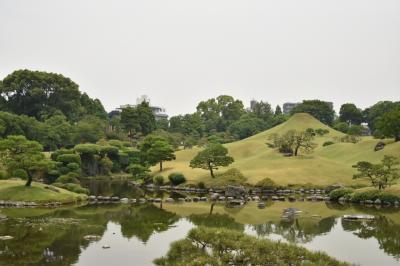 熊本城、水前寺成趣園日帰り旅