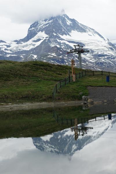 スイス、モンブラン、マッターホルン、ユングフラウを見に行きたくて。2
