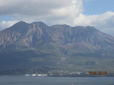 薩摩・大隅の旅(8)鹿児島・城山からの眺望。