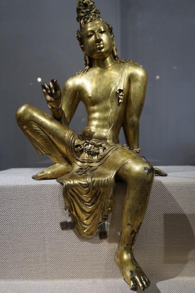 灼熱のスリランカ(30)コロンボの国立博物館でスリランカの旅の復習し、大英博物館で見たタラ像に再会する。