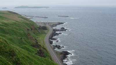 利尻・礼文島 花花ハイキング4日間(27) 礼文島 最後のハイキングは岬めぐりコースの一部。