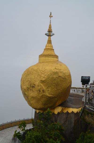 ミャンマー滞在記No.1:チャイティヨーのゴールデンロックとバゴーの仏教寺院を巡る