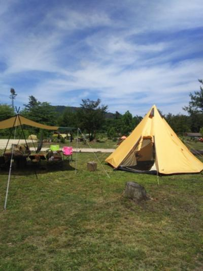 家族でゆっくりとキャンプを楽しみました