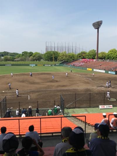 熱戦!高校野球関東大会