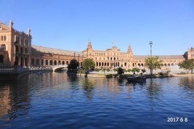 妻と行くスペイン(7-①) 是非一見の価値あり! 世界第3位の大聖堂も立派だがセビリアのスペイン広場も広くて美しかった