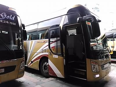 164回目訪韓は初めての全羅南道木浦を訪ねて、チムジルバン3連泊の3泊4日旅(2017/7/8土~11火)④/⑫。高速バスでソウルから木浦へ。