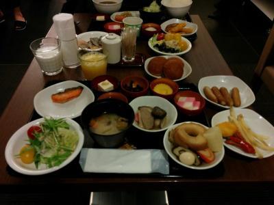 お正月、思いつきdeドライブ旅行3日目ドーミーイン金沢朝食バイキング編