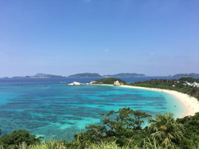 渡嘉敷島(H29沖縄離島旅行3) ー牛の背のように急峻で自然多き美しい島ー