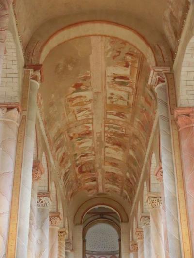 最後の海外旅行となるか2017年フランスの旅17。ポワティエその2、サン・サヴァンで世界遺産の天井画を見る。