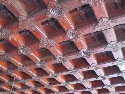 南西インドの旅 (19)                   パドマナーバプラム宮殿とインドネシアの民家に共通点を見つけた。
