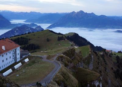 スイス Mt. Rigi からの絶景