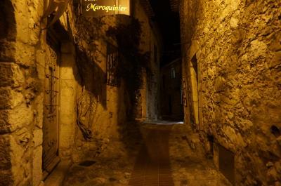 ニースと近辺で過ごしてみる④エズ(シャトーエザ)の夜